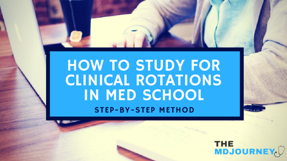 How do you study during clinical rotations? In this post I will give you my step-by-step method on how to succeed on your rotation and your shelf exams.
