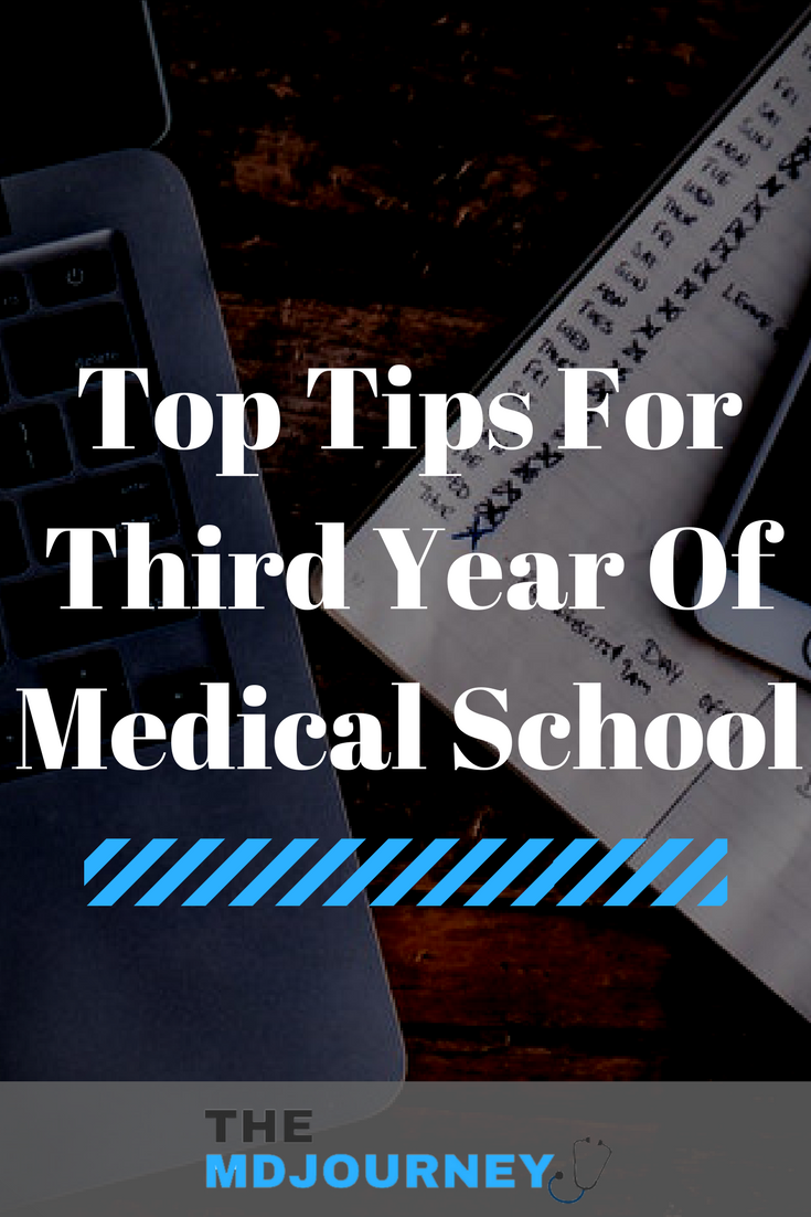 Top Tips For Third Year Of Med School