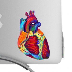 Heart Art Decal