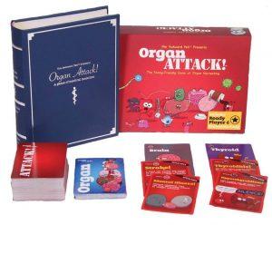 OrganAttack Table Top Card Game