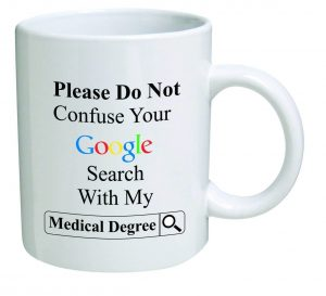 Please Do Not Confuse Search Engine With Degree Mug