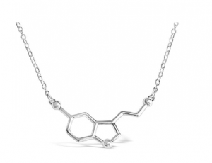Serotonin Molecule Necklace: Top Gifts For Med Students